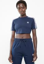 adidas Originals - Short sleeve T-shirt - blue