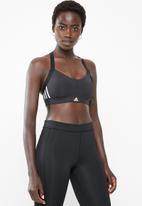 adidas - All me sports bra - black & white
