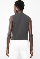 Billabong  - Be free muscle tee - charcoal