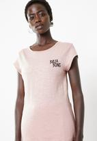 Billabong  - Palm staple tee - pink