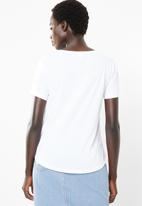 O'Neill - Beach hippie tee - white