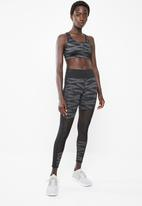 PUMA - Always on graphic 7/8 tights - black & grey