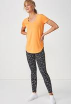 Cotton On - Gym T-shirt - orange