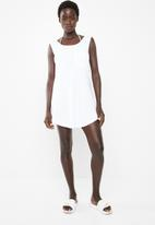 Rip Curl - Premium surf tank dress - white