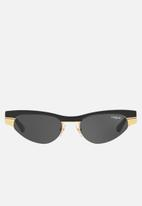 Vogue - Gigi Hadid-VO4105S sunglasses - matte black/brushed gold