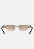 Vogue - Gigi Hadid-VO4105S sunglasses - brushed silver/black