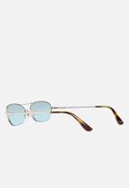 Vogue - Gigi Hadid sunglasses - VO4107S - silver/azure black gradient