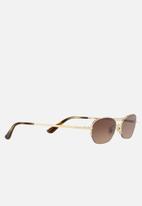 Vogue - Gigi Hadid sunglasses - VO4107S - pale gold/brown gradient