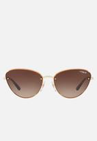 Vogue - VO4111S sunglasses - pale gold/brown gradient