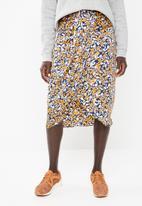 Vero Moda - Billia knee skirt - multi