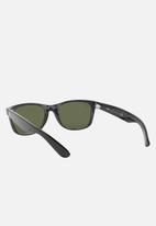 Ray-Ban - New Wayfarer sunglasses 55mm - crystal green/black