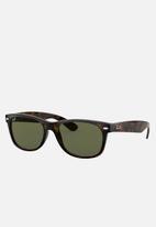 Ray-Ban - New Wayfarer sunglasses - crystal green/tortoise