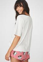 Cotton On - Boxy T-shirt - grey
