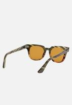 Ray-Ban - Meteor sunglasses - yellow gold/green gradient stripped