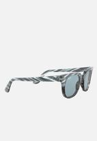 Ray-Ban - Meteor sunglasses - light blue/blue gradient stripped