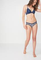 Cotton On - Stephanie contour bra - blue