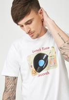 Cotton On - Lunchtime Tbar tee  - white