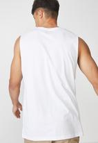 fe1698c943459d Ghetto Tbar muscle tee - white harlem Cotton On T-Shirts   Vests ...