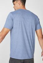 Cotton On - Downtown Tbar tee - blue