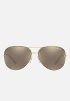 Vogue - VO4080S sunglasses - pale gold/light brown mirror