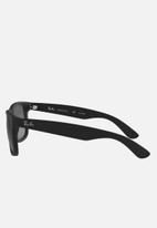 Ray-Ban - Justin sunglasses 55mm - black rubber/polar grey gradient