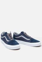 Vans - Old skool jersey lace - dress blues-grey