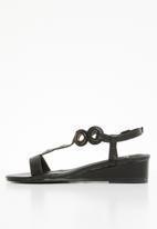 Butterfly Feet - Orenda wedges - black