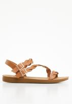 Butterfly Feet - Holard strappy sandals - tan