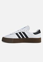 adidas Originals - Sambarose - white, black & gum