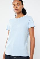 Vero Moda - Day short sleeve T-shirt - blue