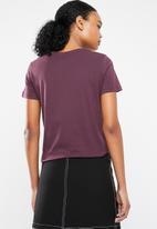 Vero Moda - Day short sleeve T-shirt - burgundy