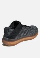 adidas Performance - Pureboost trainer - black & solid grey