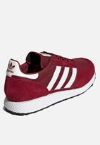 adidas Originals - Forest grove - collegiate burgundy, cloud white & black