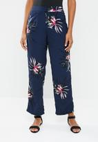 Vero Moda - Texas high waisted loose pants - multi