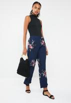 Vero Moda - Texas high waisted loose pants - multi