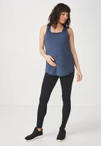 Cotton On - Maternity training tank top - blue