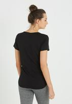 Cotton On - Maternity gym T-shirt - black