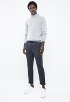 Jack & Jones - Vega pant - navy & white
