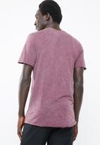 Jack & Jones - Turbo scoop neck short sleeve tee - purple