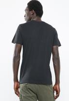 Jack & Jones - 7 Up short sleeve crew neck tee - black