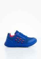 Naughty Kids - Lace sneaker - blue & red