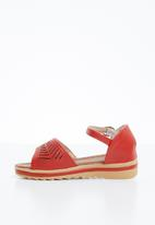 Naughty Kids - Amber summer strap sandal - red