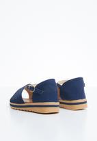 Naughty Kids - Angelina back strap sandal - navy