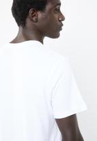 Jack & Jones - NASA short sleeve crew neck tee - white