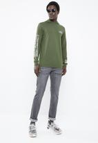 Only & Sons - Dean long sleeve hoodie - green