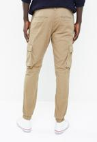 Only & Sons - Cargo cuffed jogger - beige