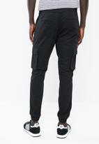 Only & Sons - Stage cargo cuffed jogger - black