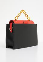 Superbalist - Luz square crossbody bag - black