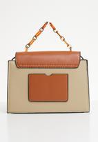 Superbalist - Luz square crossbody bag - tan