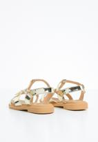 Naughty Kids - Annarose  strap sandal - gold